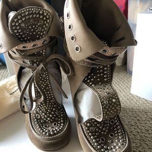 Isabel Marant studded booties
